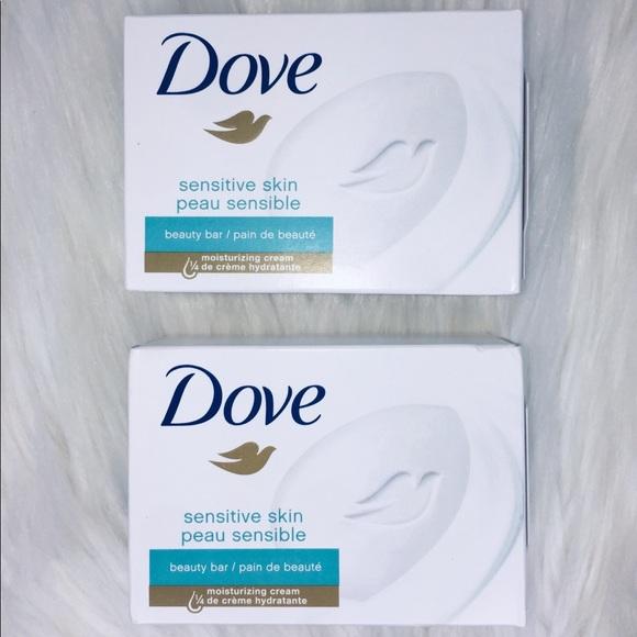 Dove Sensitive Skin Bar Soap 4oz